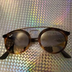 Ray-Ban Gatsby 1 Brown Sunglasses Authentic